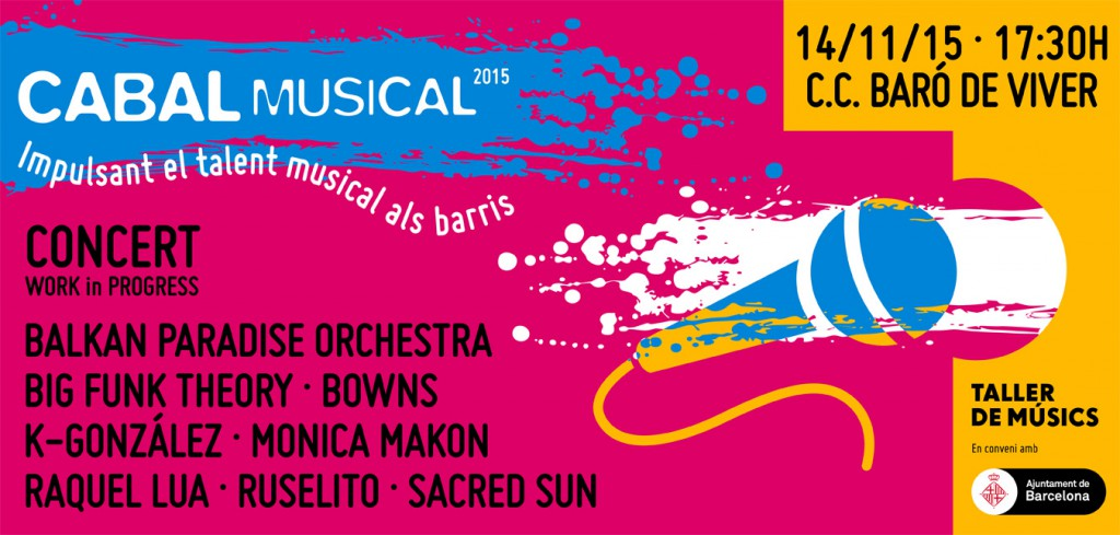 Concert Cabal Musical 14 novembre 2015