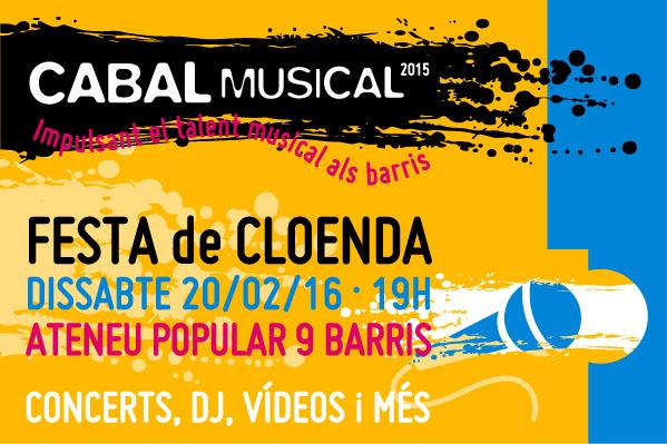 Festa de cloenda del projecte Cabal Musical 2015